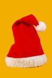 Chapéu do Natal vermelho e branco Imagem de Stock Royalty Free