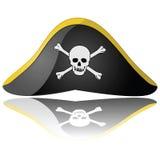 Chapéu do pirata Imagem de Stock