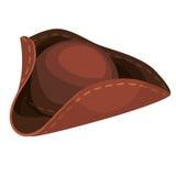 Chapéu do pirata dos desenhos animados Fotos de Stock