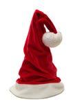 Chapéu do vermelho do Natal Fotos de Stock