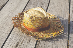 Chapéu do Weave Foto de Stock