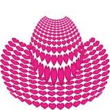 Chapéu dos corações. Imagem de Stock Royalty Free