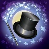 Chapéu dos mágicos Fotos de Stock