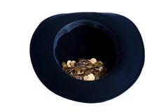 Chapéu dos pedintes Fotografia de Stock Royalty Free