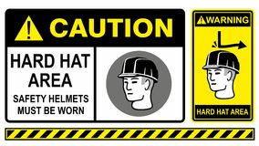 Chapéu duro Fotografia de Stock Royalty Free