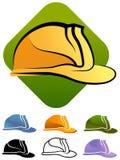 Chapéu duro da construção Imagem de Stock