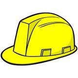 Chapéu duro da construção ilustração stock