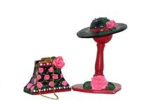 Chapéu e bolsa     foto de stock