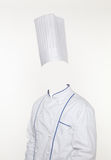 Chapéu e revestimento do cozinheiro chefe Fotos de Stock
