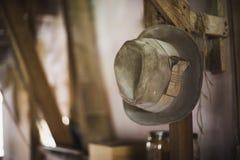 Chapéu envelhecido de Amish imagem de stock royalty free