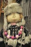 Chapéu forrado a pele da boneca Foto de Stock Royalty Free