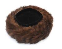Chapéu forrado a pele judaico imagem de stock