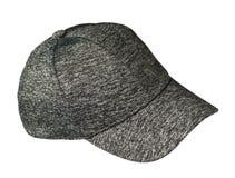 Chapéu isolado no fundo branco Chapéu com uma viseira h marcado imagens de stock