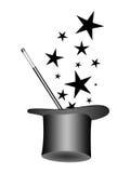 Chapéu mágico ilustração do vetor