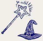 Chapéu mágico Imagem de Stock