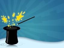 Chapéu mágico Imagens de Stock