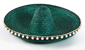 Chapéu mexicano do Sombrero imagens de stock royalty free