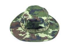 Chapéu militar do estilo. Imagens de Stock