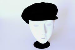 Chapéu na máscara protectora Fotos de Stock