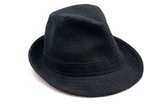 Chapéu negro Imagem de Stock
