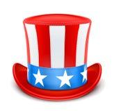 Chapéu superior dos EUA para o Dia da Independência Fotografia de Stock
