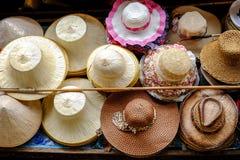 Chapéu-tecelagem Fotos de Stock