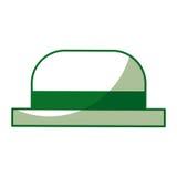 Chapéu tradicional do gondoleiro ilustração stock