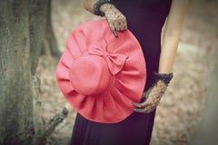Chapéu vermelho Foto de Stock Royalty Free