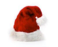 Chapéu vermelho de Santa Fotografia de Stock Royalty Free