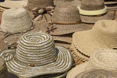 Chapéus, chapéus, chapéus Imagens de Stock Royalty Free