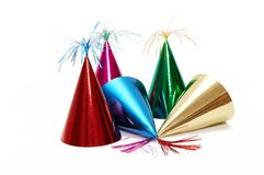 Chapéus da festa de anos Imagens de Stock Royalty Free