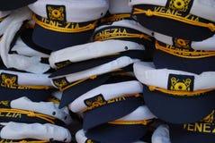 Chapéus da lembrança, Veneza imagens de stock