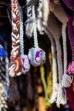 Chapéus de lãs Fotografia de Stock Royalty Free