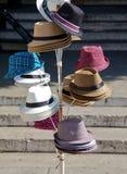 Chapéus de Panamá Fotografia de Stock Royalty Free