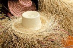 Chapéus de Panamá Foto de Stock Royalty Free