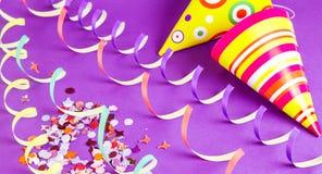 Chapéus do partido Fotos de Stock Royalty Free