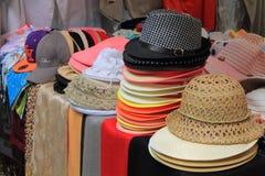 Chapéus para a venda Imagens de Stock