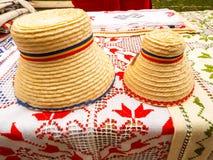 Chapéus romenos tradicionais Foto de Stock Royalty Free