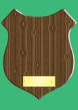 Chapa de madeira Imagens de Stock