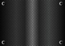 Chapa de metal genérica ilustração stock