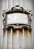Chapa do edifício de Grunge Imagem de Stock Royalty Free