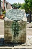 Chapa do lugar de nascimento de Brunel, Portsmouth Imagens de Stock