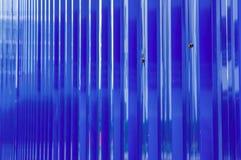 Chapa metálica azul Imagem de Stock Royalty Free