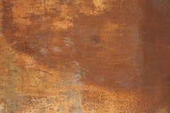 Chapa metálica com traços de corrosão fotos de stock