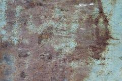 Chapa metálica com traços de fundo da corrosão fotos de stock royalty free