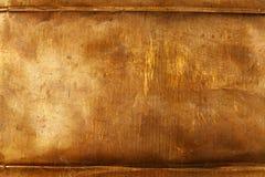 Chapa metálica de bronze Foto de Stock