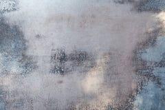 Chapa metálica e pintura gasta Foto de Stock Royalty Free