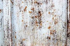 Chapa metálica a oxidar. Fotos de Stock