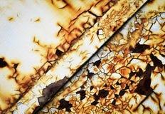 Chapa vieja oxidada Fotografía de archivo libre de regalías