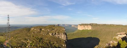 Chapada Diamantina Panorama Royalty Free Stock Image